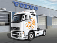 Volvo FH16 520 Sleeper Cab Italeri 1/24 3907 Plastic Model Kit - shore-line-hobby