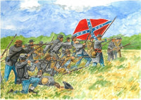 Italeri Confederate Infantry American Civil War 1/72 6178 Plastic Model Kit - Shore Line Hobby