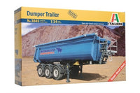 Italeri Dumper Trailer 1/24 3845 Trucks & Trailers Plastic Model Kit - shore-line-hobby