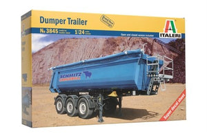Italeri Dumper Trailer 1/24 3845 Trucks & Trailers Plastic Model Kit