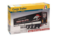 Italeri Cargo Trailer 1/24 3885 Trucks & Trailers Plastic Model Kit - shore-line-hobby