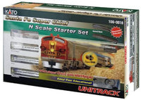 Kato USA Model Train Products N Scale Santa Fe Super Chief Starter Set - Shore Line Hobby