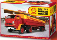 Dodge L700 & Tanker Trailer 1/25 Lindberg 118 Plastic Model Kit - Shore Line Hobby