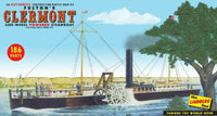 LINDBERG FULTON'S CLERMONT PADDLE WHEEL STEAMSHIP 1:96 SCALE MODEL KIT - Shore Line Hobby