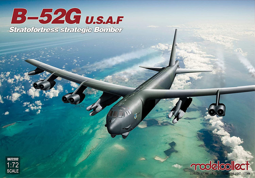 Modelcollect USAF B-52G Stratofortress Strategic Bomber 1/72 72202 - Shore Line Hobby