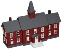 Model Power 783 HO Assembled Little Red School House