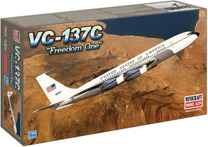 "Minicraft VC-137 USAF ""Freedom One"" (2 Marking Options) 1/144 14624 Model Kit"