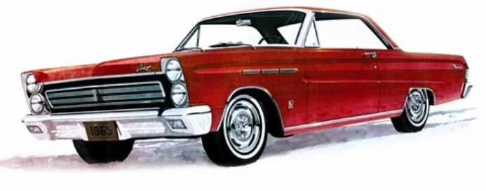 Moebius Models 1/25 1965 Mercury Comet Cyclone 1210 Plastic Model Car Kit - Shore Line Hobby