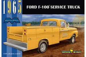 Moebius Models 1965 Ford F-100 Service Truck 1/25 Plastic Model Kit - shore-line-hobby