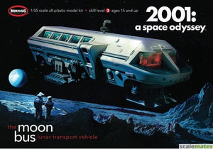 "1/55 2001 Space Odyssey: Moon Bus (Approx. 10"" Long)"