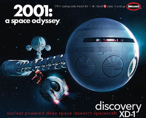 "1/144 2001 Space Odyssey: Discovery XD1 Nuclear Powered Deep Space Research Spacecraft (41"" Long)"