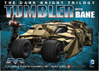 Moebius 1/25 Batman The Dark Knight Trilogy: Batmobile Tumbler w/Bane Figure Model Kit - Shore Line Hobby