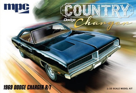 1969 Dodge Country Charger R/T Car 1/25 MPC 878 - shore-line-hobby