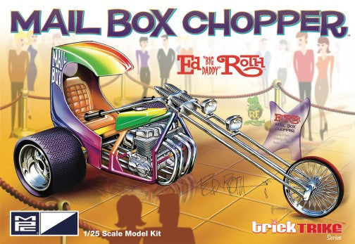 MPC 1/25 Ed Big Daddy Roth's Mail Box Chopper Custom Trike 892