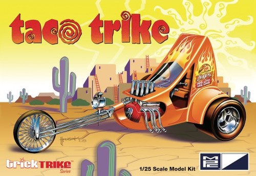 MPC Taco Trike Trick Trikes Series 1:25 Plastic Model Kit 893 - Shore Line Hobby