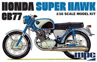 Honda Super Hawk Motorcycle 1/16 MPC Models
