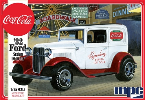 Coca Cola 1932 Ford Sedan Delivery Truck 1/25 MPC Models 902 - Shore Line Hobby