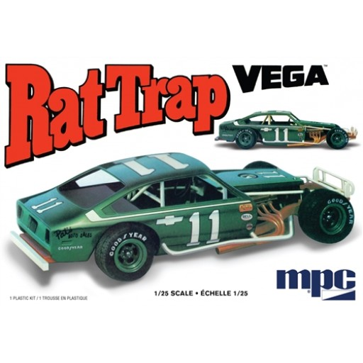 "MPC 1974 Chevy Vega Modified ""Rat Trap"" 1:25 Scale Model Kit 905 - Shore Line Hobby"