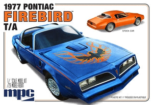MPC 1977 Pontiac Firebird T/A 1/25 Plastic Model Kit - shore-line-hobby