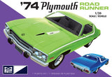 MPC  1/25 1974 Plymouth Road Runner Plastic Model Kit - 920 - Shore Line Hobby