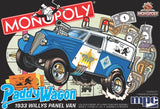 MPC 1933 Willys Panel Paddy Wagon (Monopoly) 1/25 924 Snap Model Kit