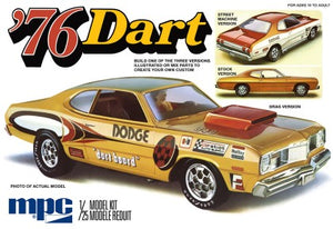 MPC 1976 Dodge Dart Sport 1/25 Scale Model Kit 925