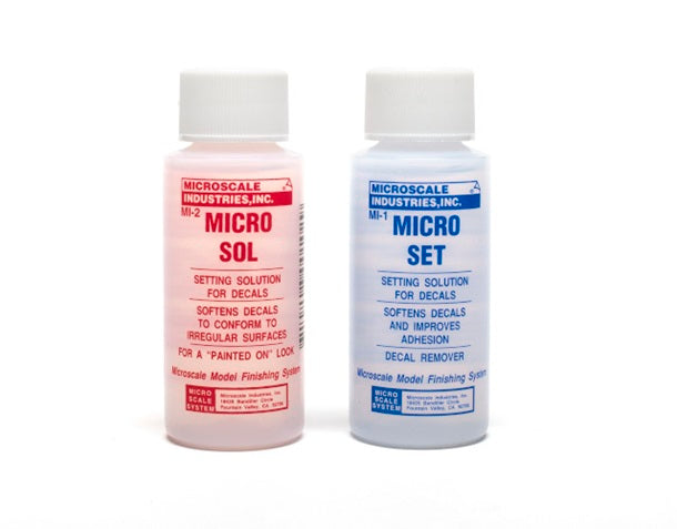 Micro Sol & Micro Set Kit - Save 11% when buying both - Shore Line Hobby