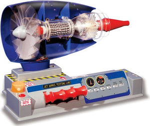 Smithsonian Jet Works Working Jet Engine Model Science Kit