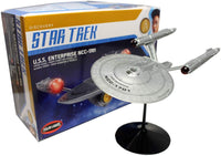Polar Lights Star Trek Discovery USS Enterprise NCC-1701 1:2500 Scale Model Kit - Shore Line Hobby