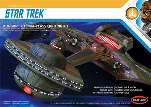1/350 Polar Lights Klingon K'T'inga Class Lighting Kit
