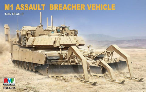Rye Field Model M1 Abrams Assault Breacher Vehicle 5011 1/35 Model Building Kit