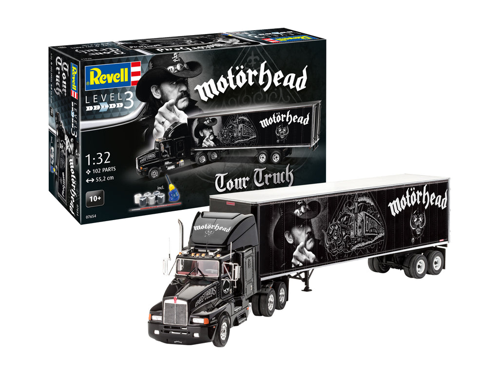 Revell Motorhead Tour Truck 1/32 7654 Plastic Model Kit