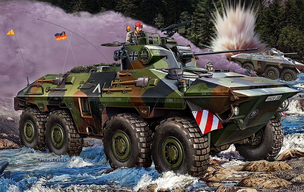 Revell Germany SpPz 2 LUCHS A1/A2 1/35 3036 Plastic Model Armor Kit - Shore Line Hobby