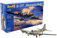 Revell Germany B-17F Memphis Belle 1/72 4279 Plastic Model Airplane Kit - Shore Line Hobby