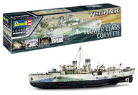 Revell Germany Flower Class Corvette - Technik 1/72 0451 Plastic Model Kit - Shore Line Hobby
