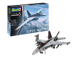 Revell of Germany 04994 1/32 F/A-18E Super Hornet Plastic Model Airplane - shore-line-hobby