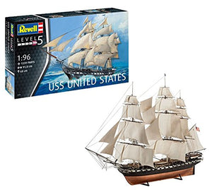 Revell 05606 - USS United States 1:96 Scale - shore-line-hobby
