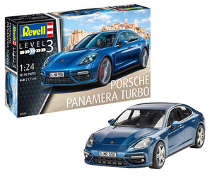 Revell Porsche Panamera Turbo 1/24 7034 Plastic Model Kit