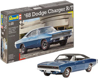 Revell Germany  1968 Dodge Charger R/T Plastic Model Kit 1:25 07188 - Shore Line Hobby