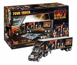 Revell 7644 - Kiss Tour Truck Gift Set - 1:32 Plastic Model Kit
