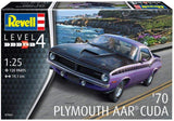 Revell Germany 7664 1:25 1970 AAR 'Cuda' Plastic Model Kit
