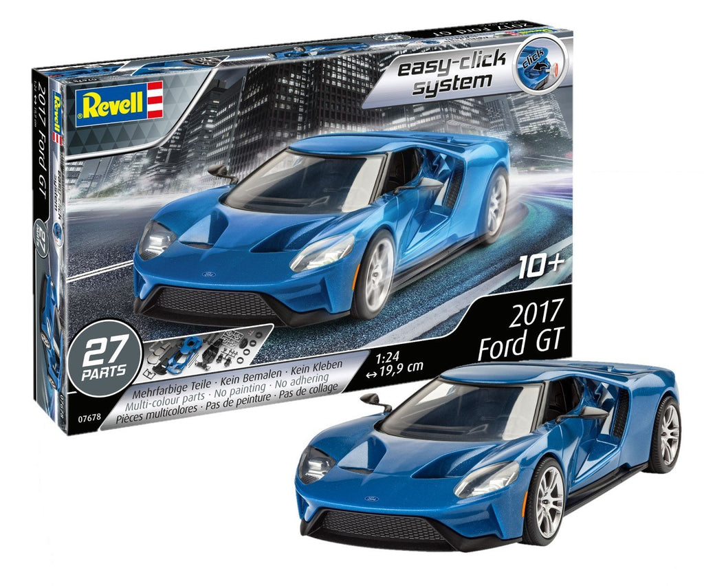 Revell 2017 Ford GT 1/24 7678 Plastic Model Kit - shore-line-hobby