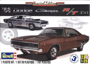 Revell Monogram 1968 Dodge Charger R/T Special Edition (2 in 1) 1/25 4202 - shore-line-hobby