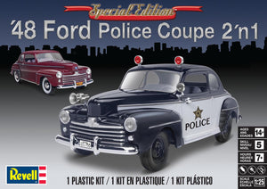 Revell 1948 Ford Police Coupe 2n1 1/25 Plastic Model Kit