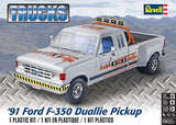 1991 Ford F-350 Duallie Pickup Revell 85-4376 1/24 New Truck Model Kit - Shore Line Hobby