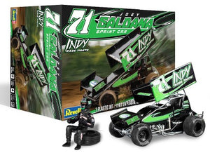 **PREORDER** Revell Monogram Indy Race Parts Joey Saldana Sprint Car Model Kit 1/24 85-4444 - shore-line-hobby