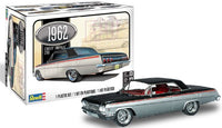 Revell 1962 Chevy Impala Hardtop (3 in 1) 1/25 4466 Plastic Model Kit - Shore Line Hobby