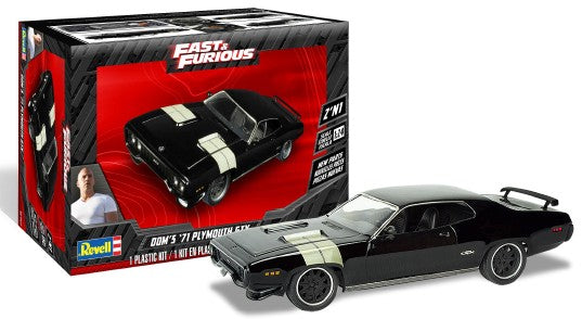 Revell  Fast & Furious Dom's 1971 Plymouth GTX (2 in 1) 1/24 4477 - Shore Line Hobby
