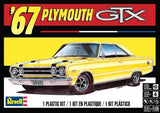 1967 Plymouth GTX 1/25 Revell Plastic Model Car Kit 4481 - Shore Line Hobby