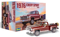 Revell Monogram 1976 Chevy Stepside 4x4 Pickup Truck Model Kit 1/24 85-4486 - shore-line-hobby